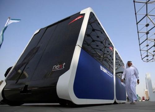 دبي تكشف النقاب عن نظام النقل المستقبلي سكاي بود (SKY POD)