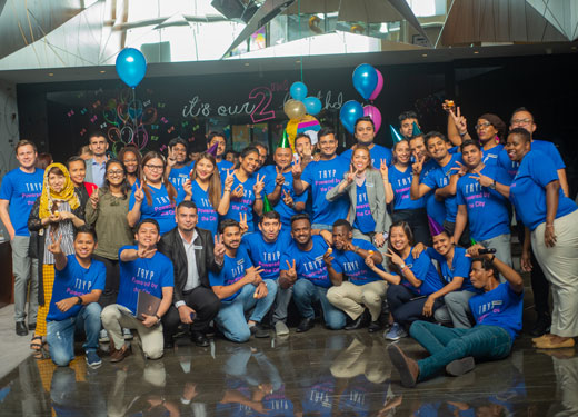 TRYP by Wyndham Dubai celebrates second birthday in style