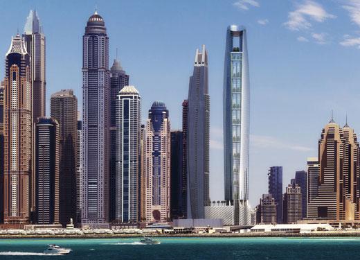 الإمارات تهيمن على قطاع الفنادق قيد الإنشاء في المنطقة