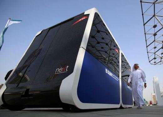 Dubai unveils futuristic Sky Pod transport system