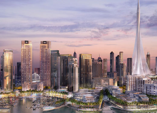 New city harbour revealed for Dubai's latest mega project