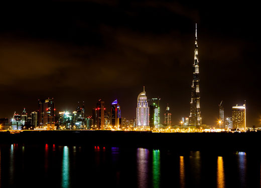Dubai Night Shot
