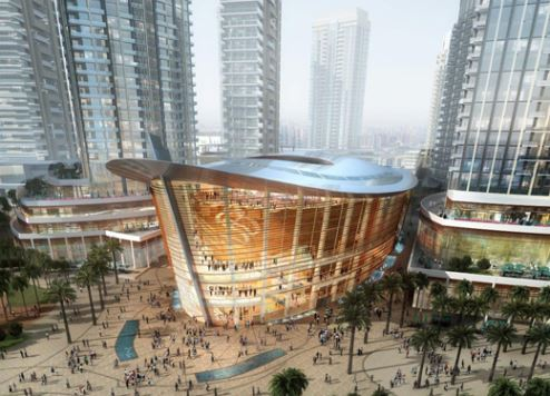 First Dubai Opera restaurant to open soon