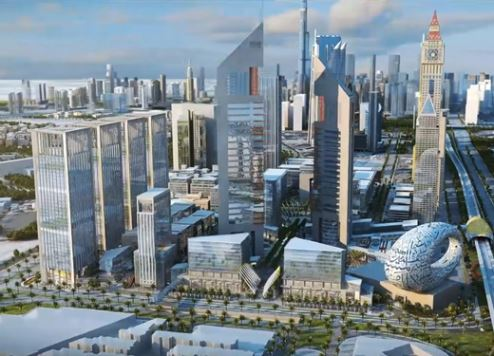 Dubai Ruler reveals plans for new US$1.36bn business district