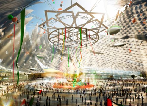 Dubai Expo's Al Wasl Plaza design unveiled
