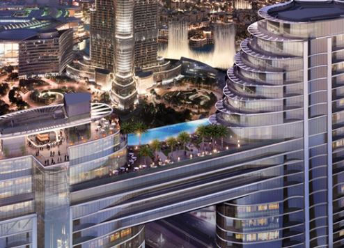 New Sky Bridge linking two Dubai hotels to become top tourism attraction