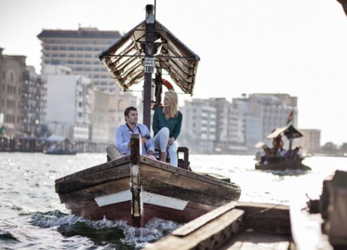 A traditional aura on Dubai Creek.