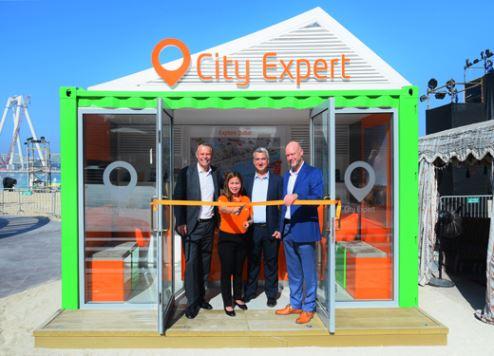 The City Expert kiosk