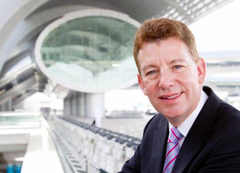 Dubai Airports CEO Paul Griffiths