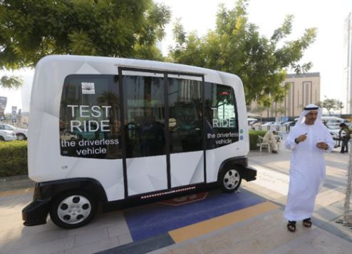 Dubai trials driverless shuttle service for visitors and residents