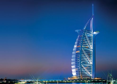 Burj Al Arab was named the Middle East's Leading All Suite Hotel