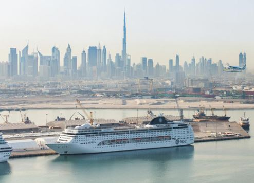 Dubai targets one million cruise tourists by 2020