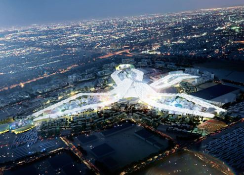The Expo 2020 site.