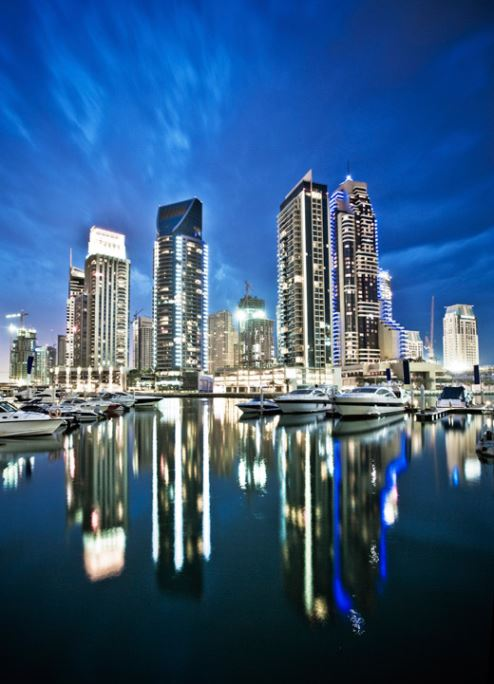 The 2016 Boat Show is being staged at Dubai Marina