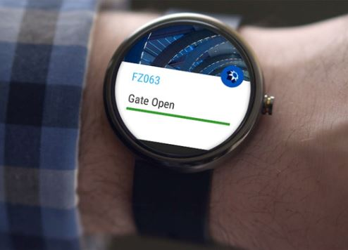 The Dubai Airport app is now available on Apple and Android smartwatches.