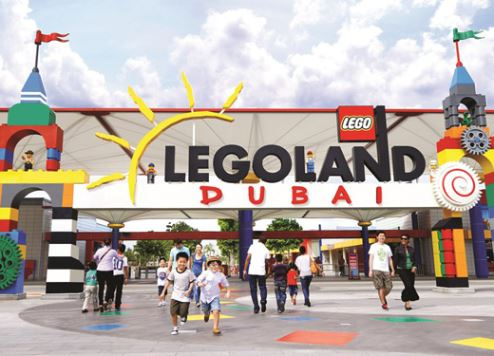 An artist's impression of Legoland Dubai