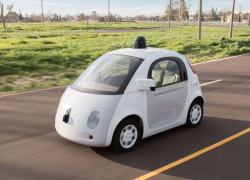 Google continues to trial self-driving cars.