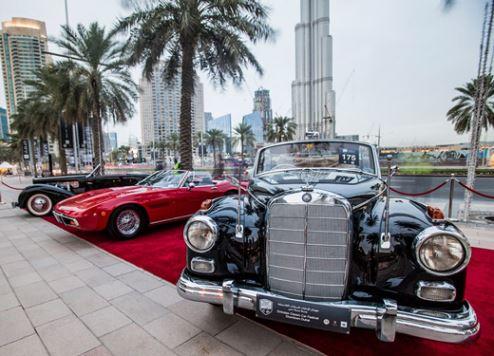 Classic cars in Dubai