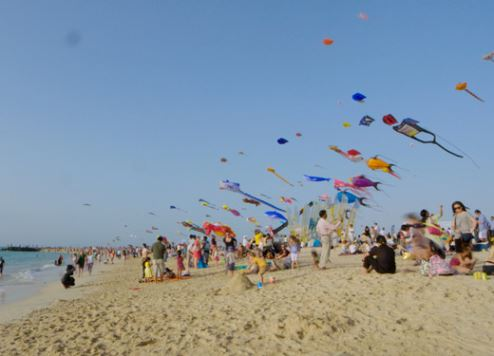 Dubai International Kite Fest 2016