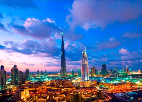 Dubai has been dubbed 'the Manhattan of the Middle East'