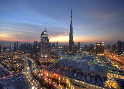 The post office is located on the 148th floor of Burj Khalifa.