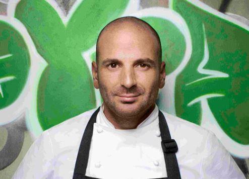 Austrailian chef George Calombaris.