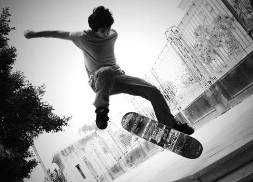 Skateboarding file image