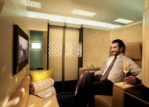Etihad Airways' The Residence.