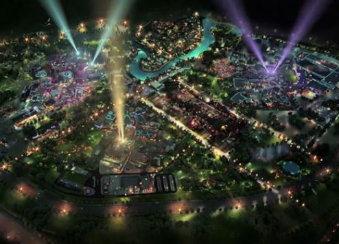 A still from the Dubai Parks and Resorts preview video.