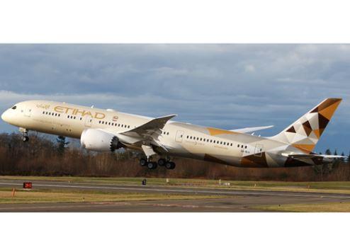 Etihad Airways Dreamliner