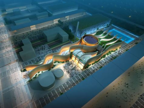 An artist's impression of the UAE pavilion at Expo 2020
