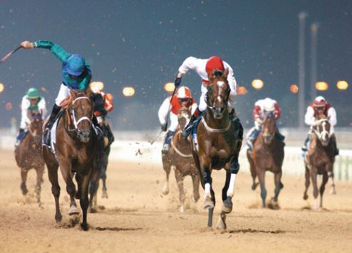 Horse racing at Meydan
