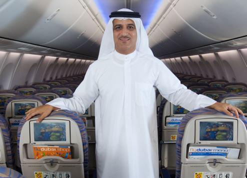 flydubai chief executive officer Ghaith Al Ghaith