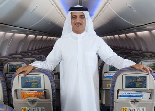 flydubai chief executive officer Ghaith Al Ghaith