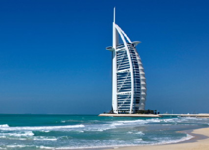 Jumeirah's flagship property, the world-famous Burj Al Arab