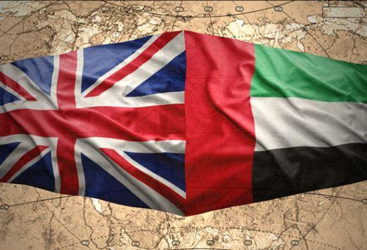 UK investment in UAE
