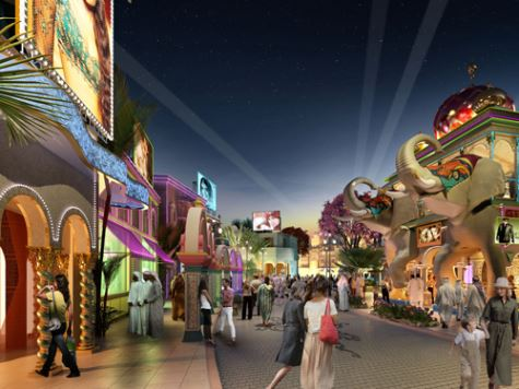 Dubai Parks & Resorts Bollywood Boulevard