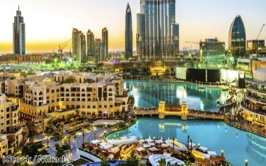 Dubai visitors