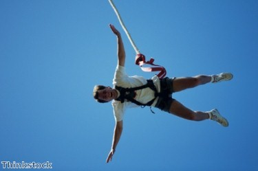 Dubai bungee jumping event draws to a close