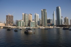Values for Dubai Marina property 'boosted'