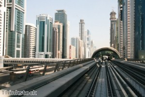 Over a million people commute to Dubai each day