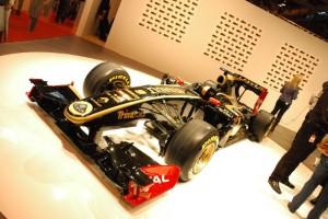 Lotus F1 promote Dubai Expo 2020