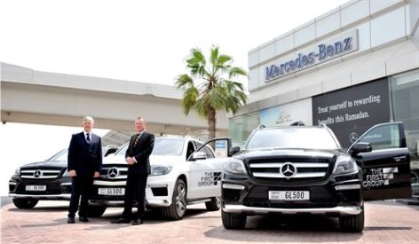 The First Group Вступает в Партнерство С Gargash Mercedes-Benz