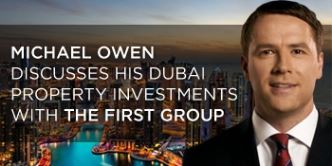 Football hero Michael Owen tours The First Group's properties during Dubai visit