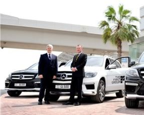 The First Group teams up with Gargash Mercedes-Benz to deliver a new level of luxury, quality and high class performance to clients