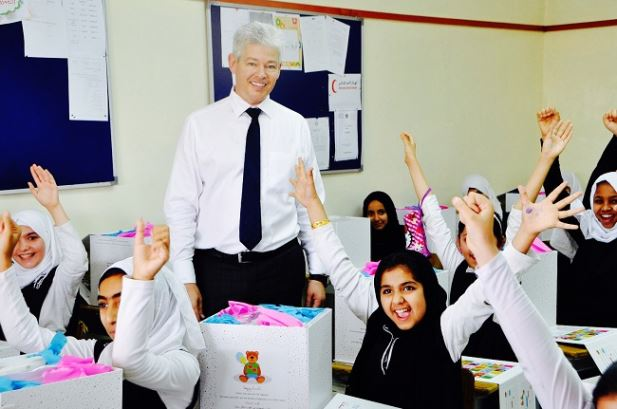 THE FIRST GROUP GIVES CHILDREN THE GIFT OF HAPPINESS THIS RAMADAN