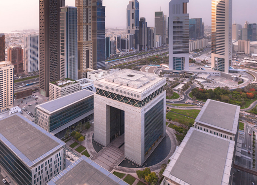 DUBAI EST NOMMÉE L'UN DES PRINCIPAUX CENTRES FINANCIERS AU MONDE
