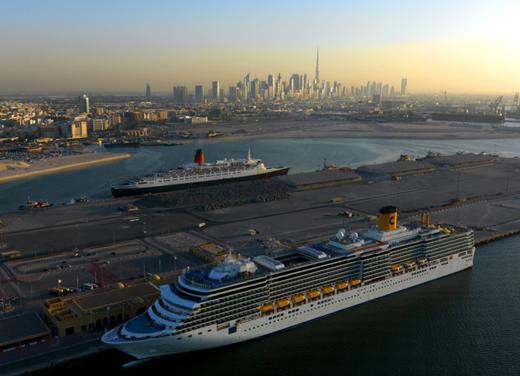 Круизный туризм Дубая поднимает волну