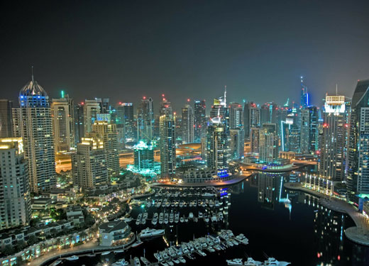 Актуальный путеводитель: район Dubai Marina