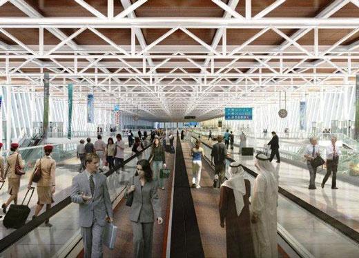 Рост пассажиропотока Dubai World Central в первом полугодии